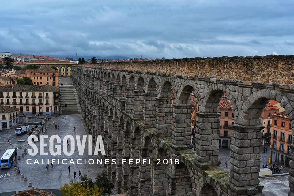Calificaciones FEPFI Segovia 2018