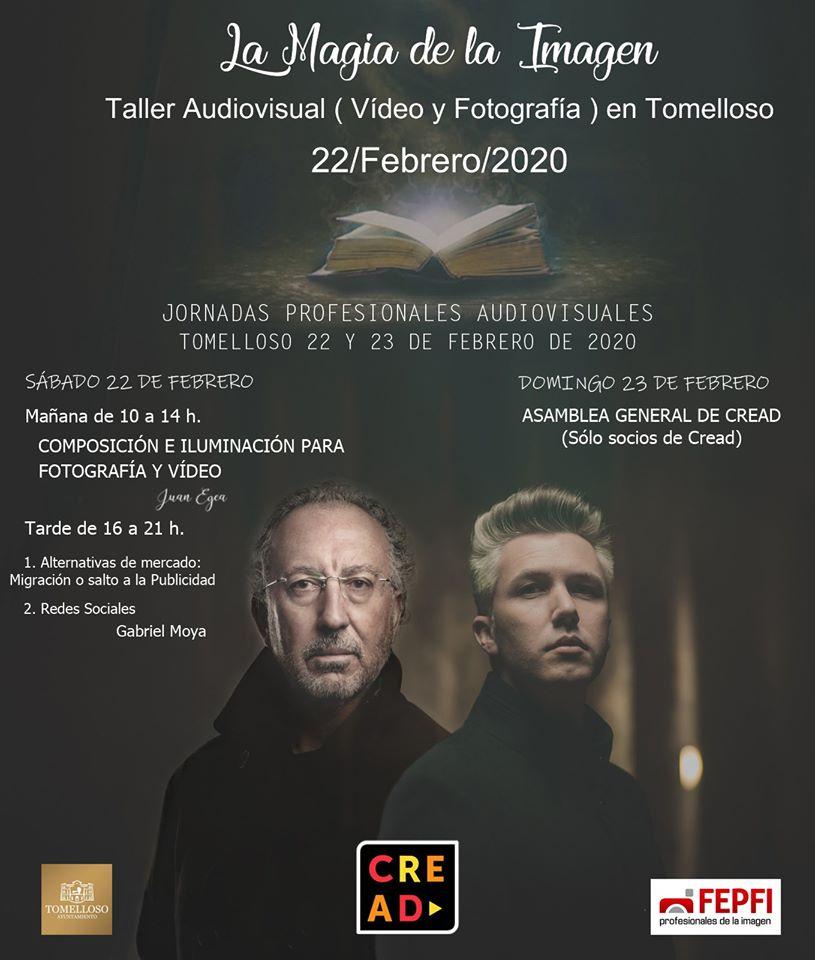 Jornadas profesionales audiovisuales Tomelloso 2020