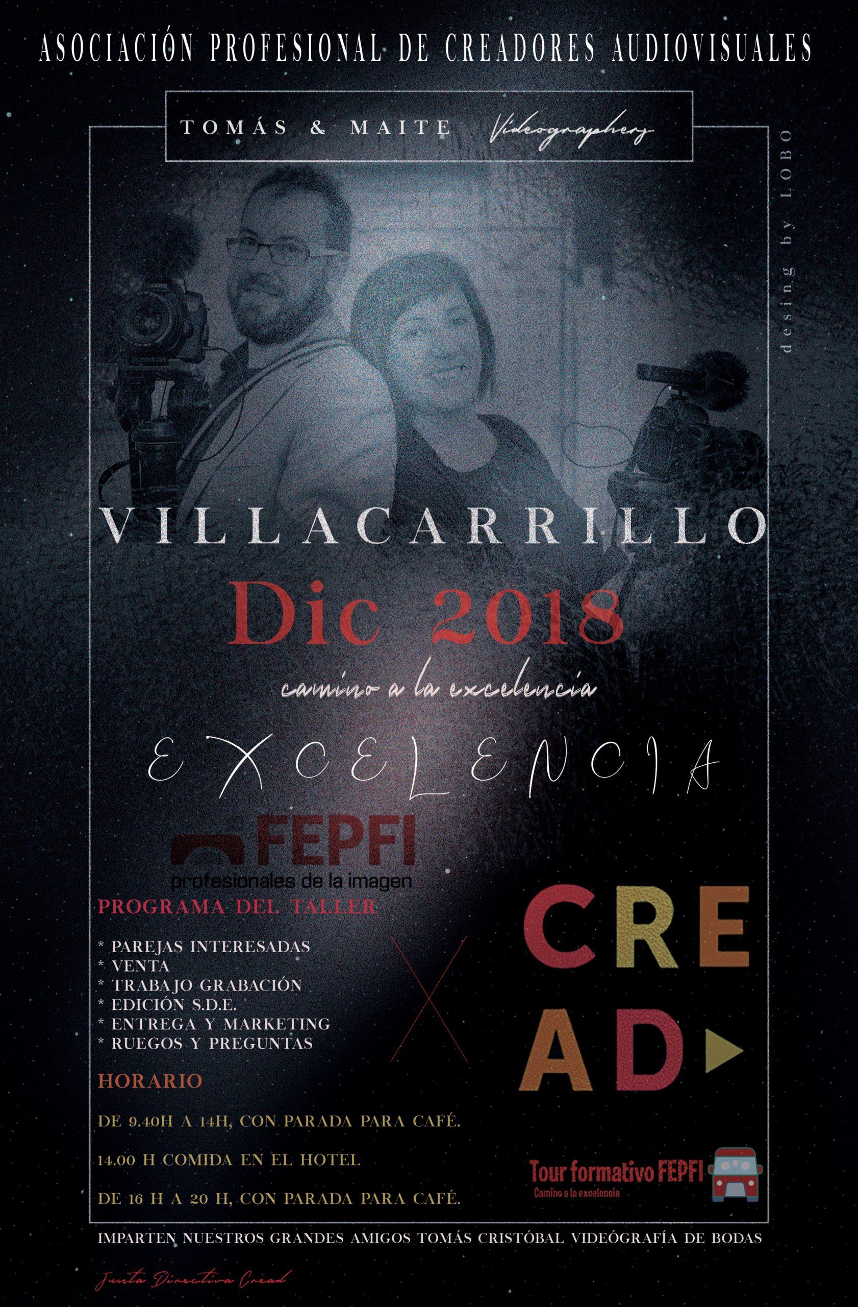 Taller Tomás y Maite villacarrillo 2018
