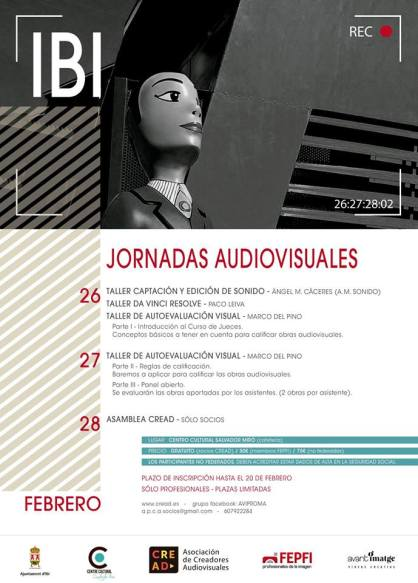 jornadas talleres audioviusales ibi